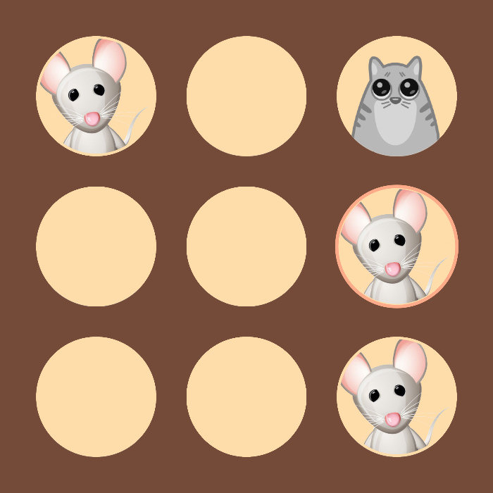 Example of Mini game to play with you pet