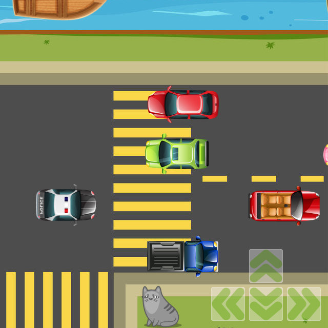 Play Game - Frogger game